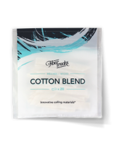 Cotton Blend Wicks by Fibre Freaks