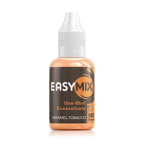 Caramel Tobacco 30ml One Shot Flavour Concentrate by EasyMix bottle view