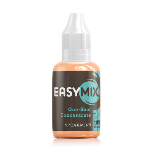Spearmint 30ml One Shot Flavour Concentrate by EasyMix bottle view