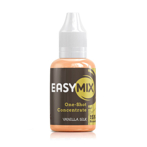 Vanilla Silk 30ml One Shot Flavour Concentrate by EasyMix bottle view