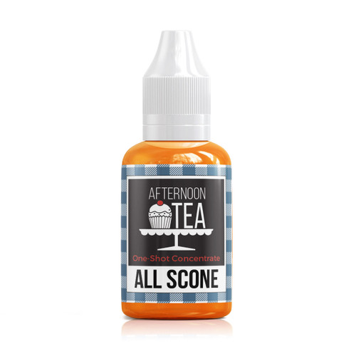 All Scone 30ml one shot flavour concentrate by Afternoon Tea bottle view