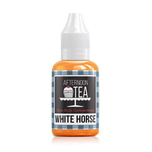 White Horse 30ml one shot flavour concentrate by Afternoon Tea bottle view