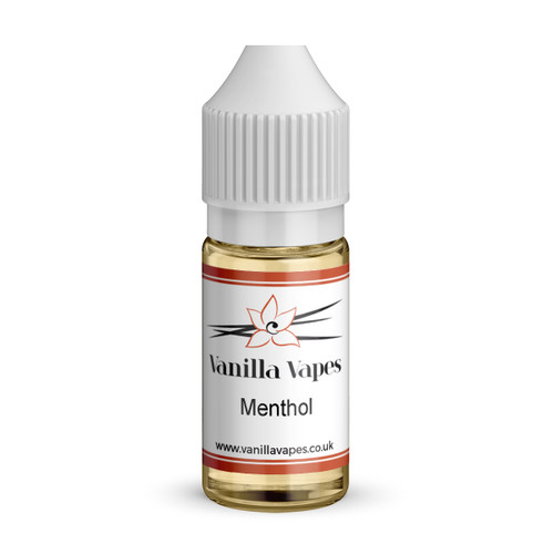 Menthol flavour concentrate bottle view