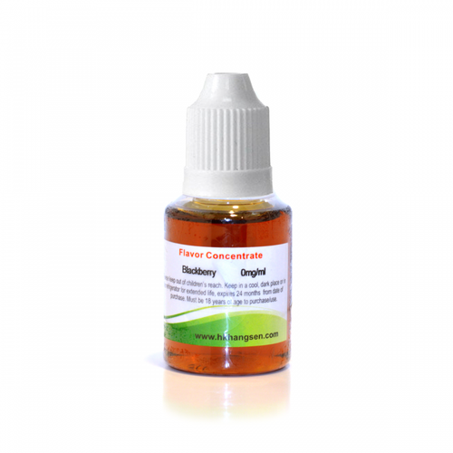 Blackberry flavour concentrate by Hangsen 30ml bottle view