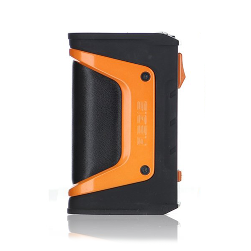 Geekvape Aegis Legend 200w Box Bod in Black and Orange side view