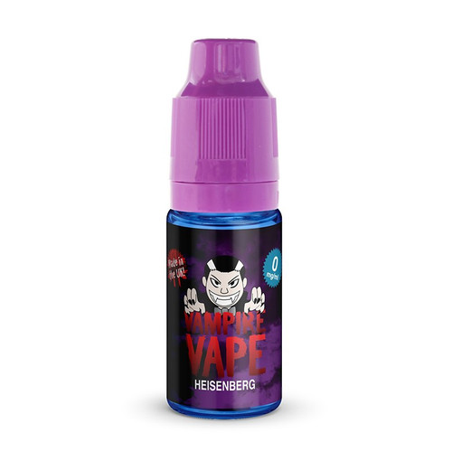 Heisenberg E-Liquid 10ml by Vampire Vape bottle view
