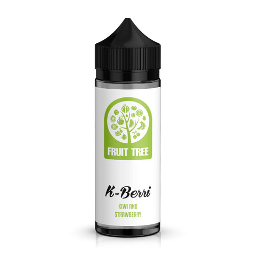 Fruit Tree K-Berri 100ml Shortfill E-Liquid Bottle View