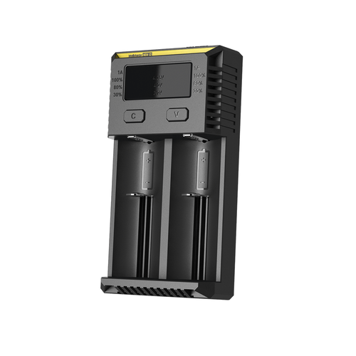 New i2 Intellicharger battery charger by Nitecore