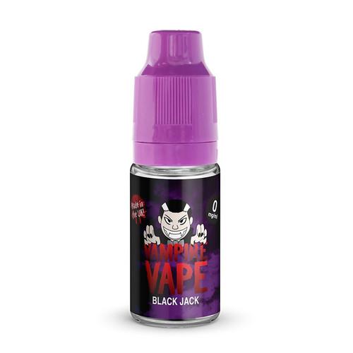 Vampire Vape Black Jack E-Liquid 10ml bottle view