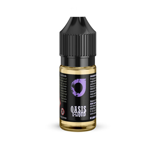Oasis 10ml bottle Black Grape flavour e-liquid