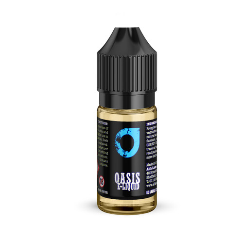 Oasis 10 ml bottle Blueberry Burst flavour e-liquid