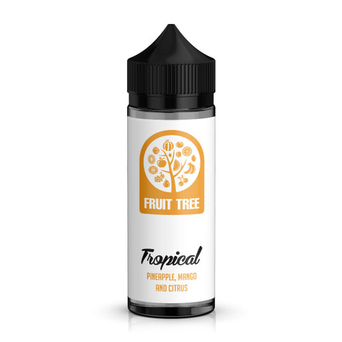 Fruit Tree Tropical E-Liquid 100ml Shortfill Bottle
