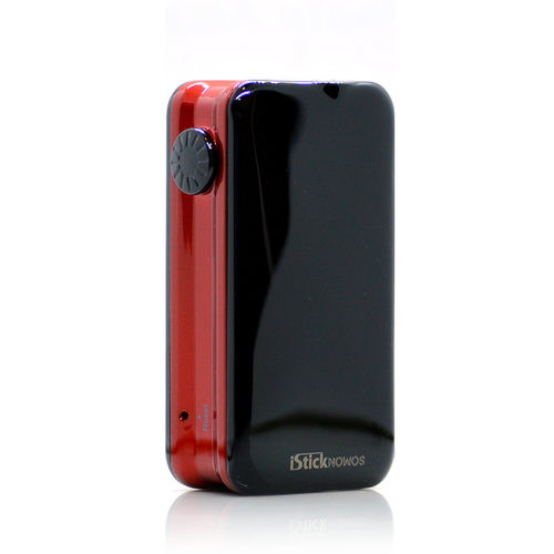 iStick Nowos Touch Screen Box Mod in Red and Black