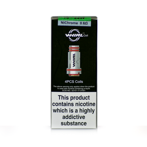 Pack of Whirl Coils in 0.6ohm in a box