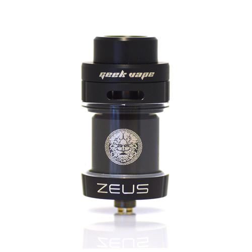 Zeus Dual Coil RTA tank in black