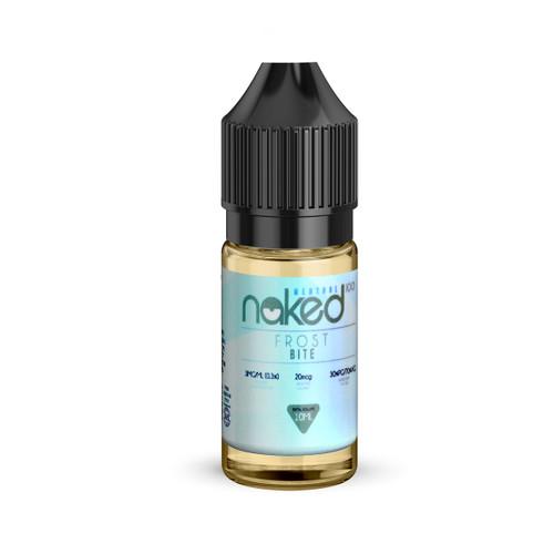 Frost Bite 10ml e-liquid bottle by Naked 100