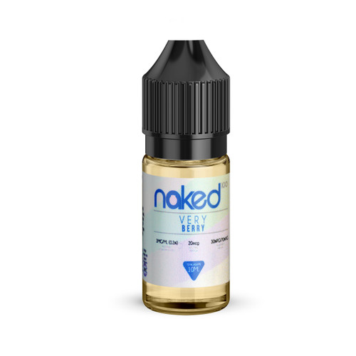Very Berry e-liquid bottle by Naked 100