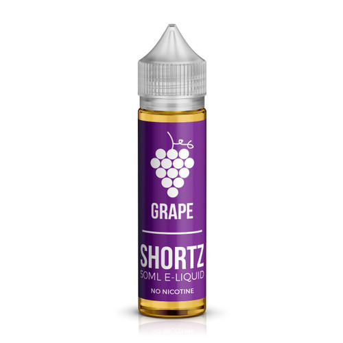 Grape 50ml shortfill e-liquid bottle by Shortz