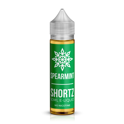 Spearmint 50ml shortfill e-liquid bottle