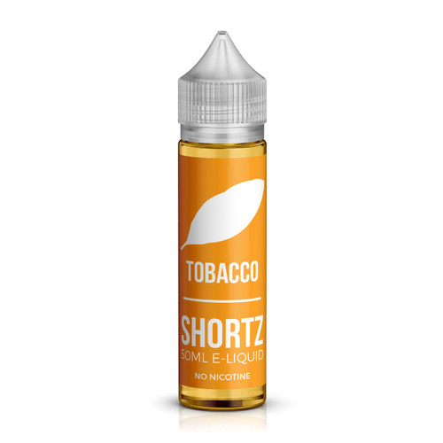 Tobacco 50ml shortfill e-liquid bottle by Shortz