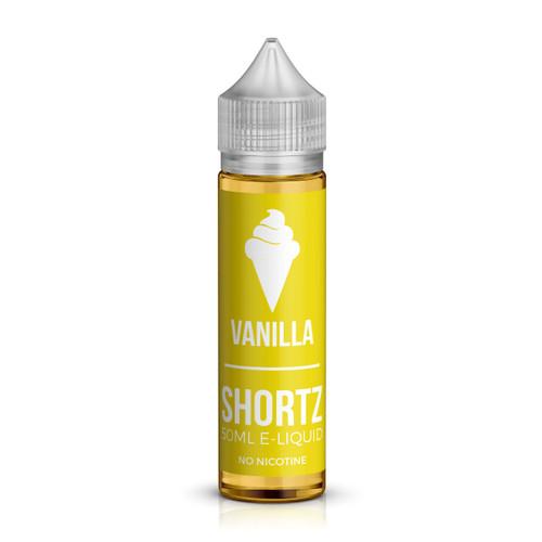 Vanilla 50ml shortfill e-liquid by Shortz