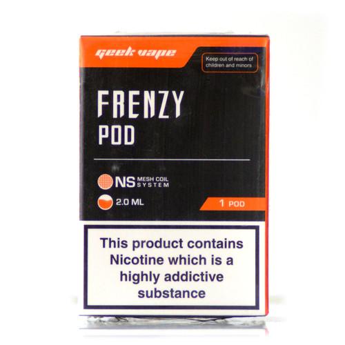Frenzy Pod on white background