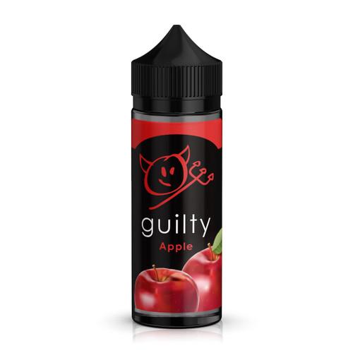 Guilty Apple E-Liquid 100ml Shortfill Bottle