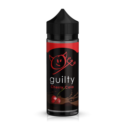 Guilty Cherry Cola E-Liquid 100ml Shortfill Bottle