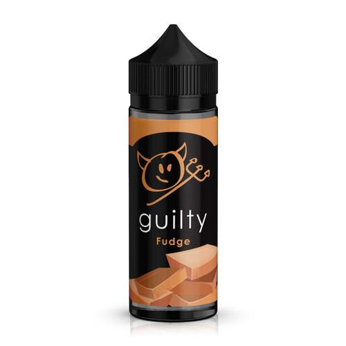 Guilty Fudge E-Liquid 100ml Shortfill Bottle