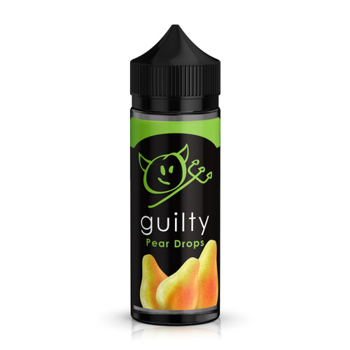 Guilty Pear Drops E-Liquid 100ml Shortfill Bottle