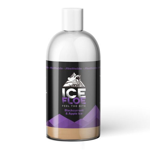 Blackcurrant & Apple Ice Big Shot 250ml Bottle View