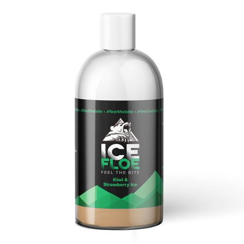 Kiwi & Strawberry Ice Big Shot 250ml Bottle View
