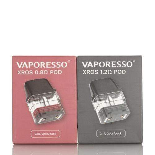 Vaporesso XROS Replacement Pods in a box of 2