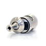 Aspire Nautilus 2S Tank in Silver on side with top cap slid open