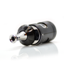 Aspire Nautilus 2S Tank in Black on side with top cap slid open