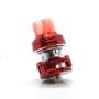 Ella Dura Sub ohm tank in red, airflow channels
