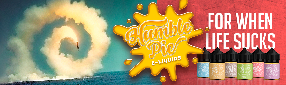Humble Pie E-liquid - For when life sucks