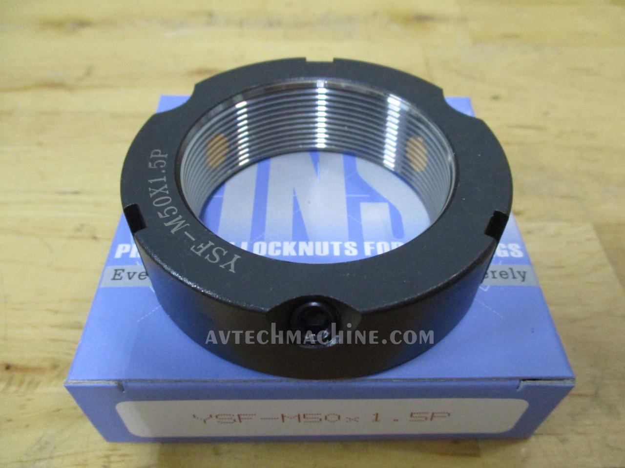 Turning- Red Yinsh Precision Bearing Locknut YSF-M50x1.5P