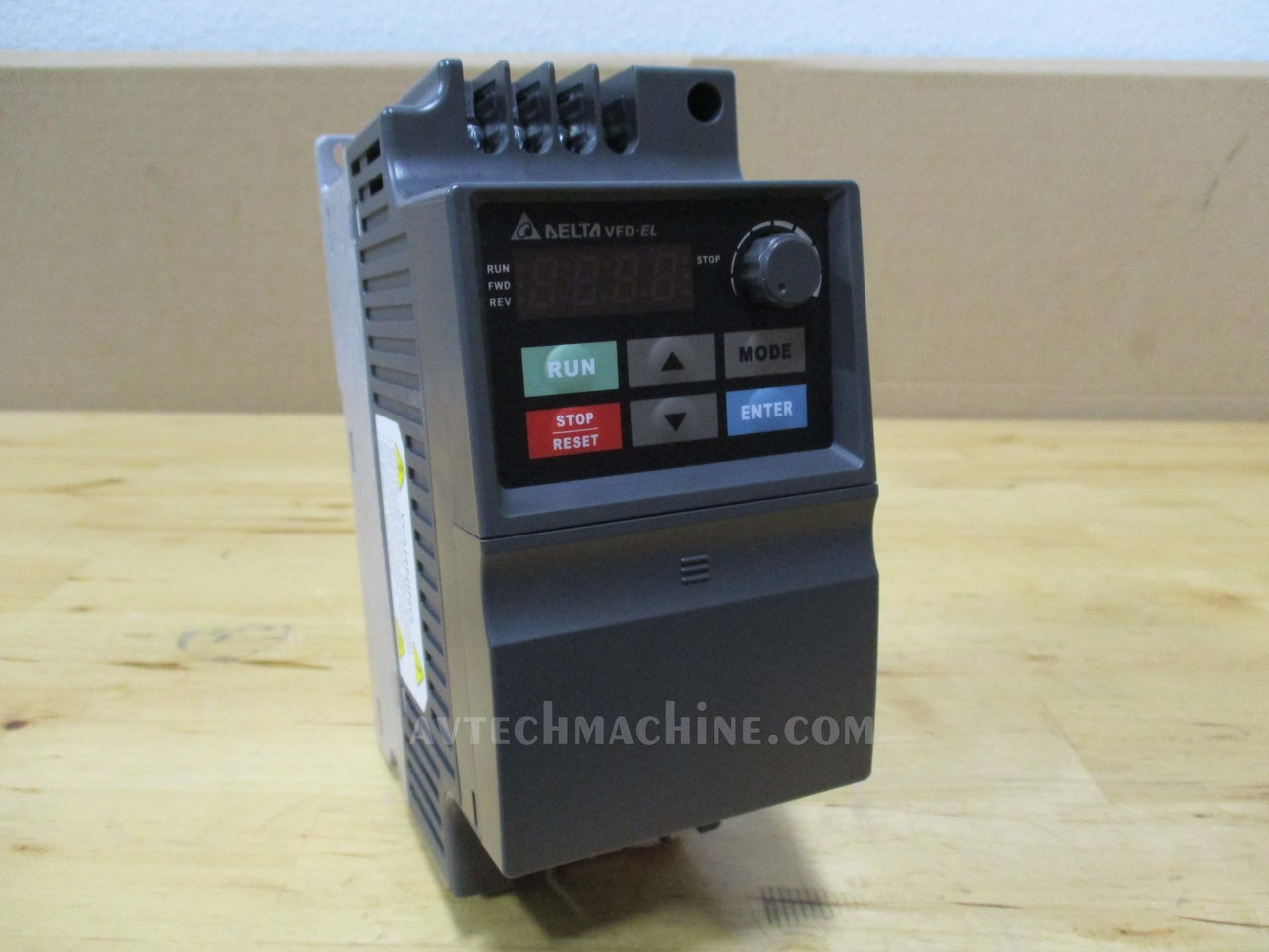 Delta VFD-002S23A Frequency Inverter Drive 3PH 1//4HP 230V