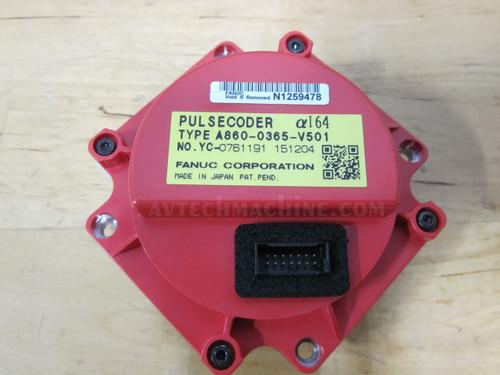 A860-0365-V501 Fanuc Servo Motor Pulse Coder 12/2000