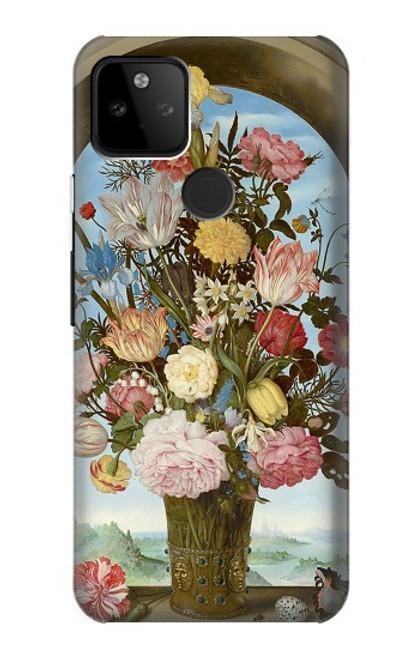 S3749 花瓶 Vase of Flowers Google Pixel 5A 5G バックケース、フリップケース・カバー