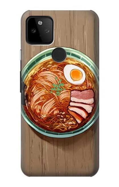 S3756 ラーメン Ramen Noodles Google Pixel 5A 5G バックケース、フリップケース・カバー