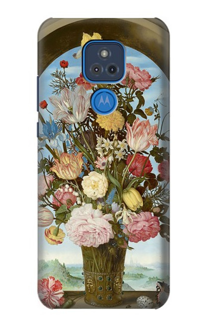 S3749 花瓶 Vase of Flowers Motorola Moto G Play (2021) バックケース、フリップケース・カバー