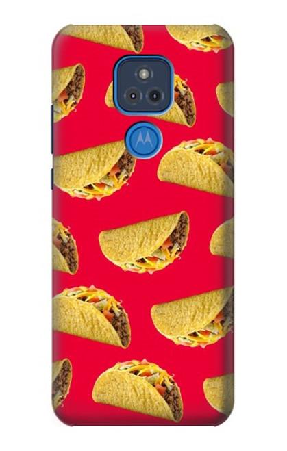 S3755 メキシコのタコスタコス Mexican Taco Tacos Motorola Moto G Play (2021) バックケース、フリップケース・カバー