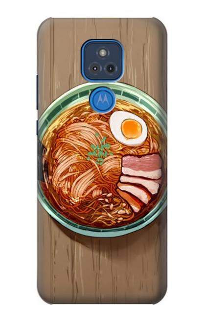S3756 ラーメン Ramen Noodles Motorola Moto G Play (2021) バックケース、フリップケース・カバー