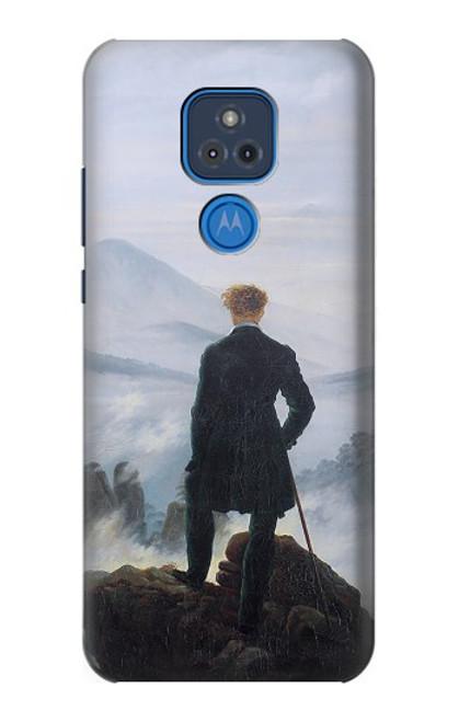 S3789 霧の海の上の放浪者 Wanderer above the Sea of Fog Motorola Moto G Play (2021) バックケース、フリップケース・カバー