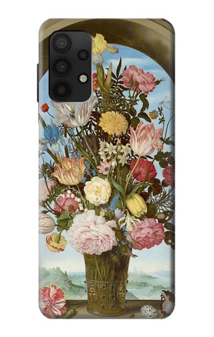 S3749 花瓶 Vase of Flowers Samsung Galaxy A32 4G バックケース、フリップケース・カバー