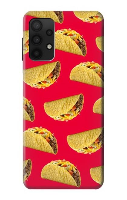 S3755 メキシコのタコスタコス Mexican Taco Tacos Samsung Galaxy A32 4G バックケース、フリップケース・カバー