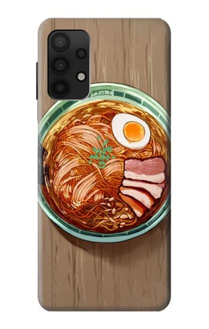 S3756 ラーメン Ramen Noodles Samsung Galaxy A32 4G バックケース、フリップケース・カバー