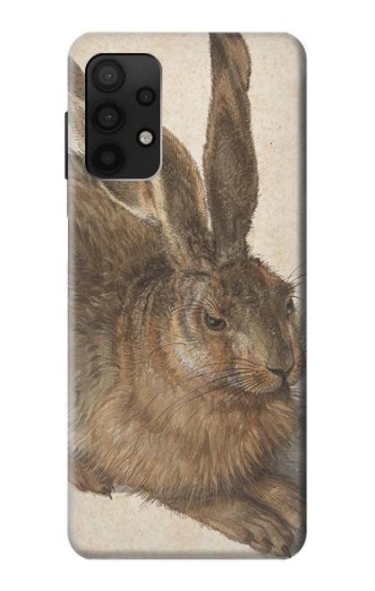 S3781 アルブレヒト・デューラー・ヤング・ヘア Albrecht Durer Young Hare Samsung Galaxy A32 4G バックケース、フリップケース・カバー